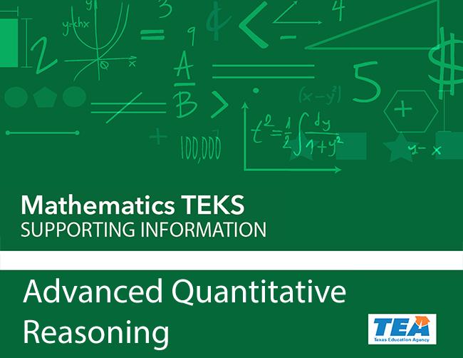 Mathematics TEKS: Supporting Information   Texas Gateway